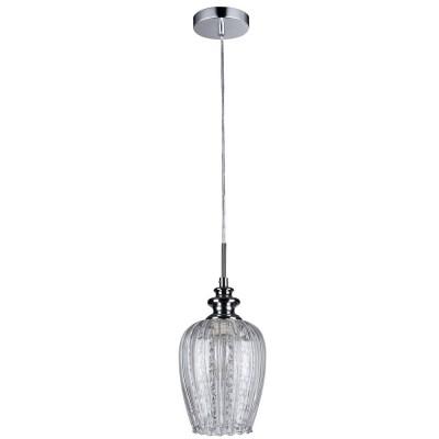 Подвес Maytoni MOD044-PL-01-N BluesОдиночные<br><br><br>Тип лампы: Накаливания / энергосбережения / светодиодная<br>Тип цоколя: E14<br>Цвет арматуры: никель серебристый<br>Количество ламп: 1<br>Диаметр, мм мм: 140<br>Высота полная, мм: 1000<br>Высота, мм: 170<br>MAX мощность ламп, Вт: 40