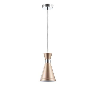 MOD111-00-G Maytoni - СветильникОдиночные<br><br><br>S освещ. до, м2: 2<br>Тип лампы: Накаливания / энергосбережения / светодиодная<br>Тип цоколя: E14<br>Количество ламп: 1<br>Диаметр, мм мм: 135<br>Высота, мм: 250 - 1450<br>MAX мощность ламп, Вт: 40