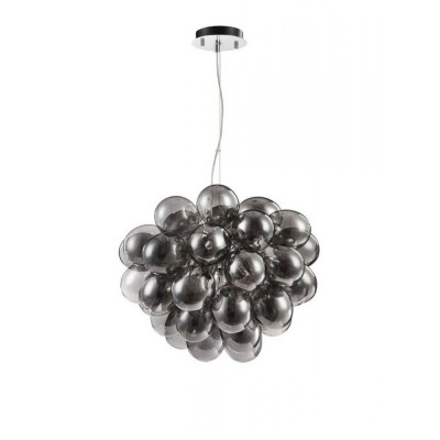 MOD112-08-N Maytoni - СветильникПодвесные<br><br><br>Установка на натяжной потолок: Да<br>S освещ. до, м2: 11<br>Тип лампы: галогенная/LED<br>Тип цоколя: G9<br>Количество ламп: 8<br>Диаметр, мм мм: 600<br>Высота, мм: 500 - 1700<br>MAX мощность ламп, Вт: 28