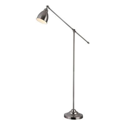 Торшер Maytoni MOD142-FL-01-N DominoСовременные торшеры<br><br><br>Тип лампы: Накаливания / энергосбережения / светодиодная<br>Тип цоколя: E27<br>Цвет арматуры: никель серебристый<br>Количество ламп: 1<br>Ширина, мм: 260<br>Глубина, мм: 900<br>Высота, мм: 1440<br>MAX мощность ламп, Вт: 40