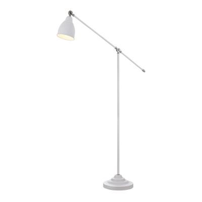 Торшер Maytoni MOD142-FL-01-W DominoСовременные<br><br><br>Тип лампы: Накаливания / энергосбережения / светодиодная<br>Тип цоколя: E27<br>Цвет арматуры: Белый<br>Количество ламп: 1<br>Ширина, мм: 260<br>Глубина, мм: 900<br>Высота, мм: 1440<br>MAX мощность ламп, Вт: 40