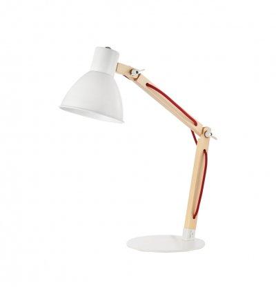 Настольная лампа Maytoni MOD147-01-W Apexофисные настольные лампы<br>Настольная лампа – это не просто источник дополнительного освещения, но и оригинальный элемент декора. Его можно установить в спальне, гостиной, кабинете и других комнатах. Интернет-магазин «Светодом» предлагает настольные лампы разных стилей по доступным ценам. Благодаря большому ассортименту Вы обязательно найдете в нашем каталоге именно ту модель, которую искали.   Настольная лампа Maytoni MOD147-01-W – прекрасный вариант для завершения интерьера. Ее можно включить одновременно с люстрой для более яркого освещения или без нее для создания уютной атмосферы, настраивающей на отдых.   Купить настольную лампу Maytoni MOD147-01-W Вы можете с помощью виртуальной «Корзины» или по контактным номерам, указанным на сайте.<br><br>Тип лампы: Накаливания / энергосбережения / светодиодная<br>Тип цоколя: E14<br>Количество ламп: 1<br>Ширина, мм: 200<br>Глубина, мм: 350<br>Высота, мм: 500<br>MAX мощность ламп, Вт: 40