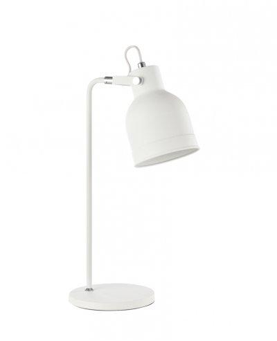 Настольная лампа Maytoni MOD148-01-W PixarХай тек<br>Настольная лампа – это не просто источник дополнительного освещения, но и оригинальный элемент декора. Его можно установить в спальне, гостиной, кабинете и других комнатах. Интернет-магазин «Светодом» предлагает настольные лампы разных стилей по доступным ценам. Благодаря большому ассортименту Вы обязательно найдете в нашем каталоге именно ту модель, которую искали.   Настольная лампа Maytoni MOD148-01-W – прекрасный вариант для завершения интерьера. Ее можно включить одновременно с люстрой для более яркого освещения или без нее для создания уютной атмосферы, настраивающей на отдых.   Купить настольную лампу Maytoni MOD148-01-W Вы можете с помощью виртуальной «Корзины» или по контактным номерам, указанным на сайте.<br><br>Тип цоколя: E27<br>Количество ламп: 1<br>Ширина, мм: 180<br>Глубина, мм: 300<br>Высота, мм: 505<br>MAX мощность ламп, Вт: 40