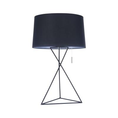 Настольная лампа  Maytoni MOD183-TL-01-B GaudiСовременные настольные лампы модерн<br><br><br>Тип лампы: Накаливания / энергосбережения / светодиодная<br>Тип цоколя: E27<br>Цвет арматуры: Черный<br>Количество ламп: 1<br>Диаметр, мм мм: 350<br>Высота, мм: 545<br>MAX мощность ламп, Вт: 60