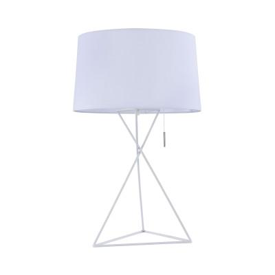 Настольная лампа  Maytoni MOD183-TL-01-W GaudiСовременные<br><br><br>Тип лампы: Накаливания / энергосбережения / светодиодная<br>Тип цоколя: E27<br>Цвет арматуры: Белый<br>Количество ламп: 1<br>Диаметр, мм мм: 350<br>Высота, мм: 545<br>MAX мощность ламп, Вт: 60