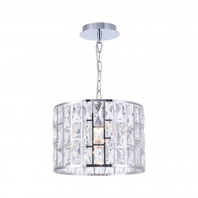 Люстра  Maytoni MOD184-PL-01-CH GelidПодвесные<br><br><br>Тип лампы: Накаливания / энергосбережения / светодиодная<br>Тип цоколя: E27<br>Цвет арматуры: Хром серебристый<br>Количество ламп: 1<br>Диаметр, мм мм: 302<br>Высота полная, мм: 1212<br>Высота, мм: 212<br>MAX мощность ламп, Вт: 60