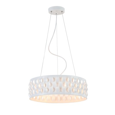 Люстра  Maytoni MOD196-PL-04-W Delicateсовременные подвесные люстры модерн<br><br><br>S освещ. до, м2: 8<br>Тип лампы: накаливания / энергосбережения / LED-светодиодная<br>Тип цоколя: E14<br>Цвет арматуры: Белый<br>Количество ламп: 4<br>Диаметр, мм мм: 420<br>Высота полная, мм: 1425<br>Высота, мм: 125<br>MAX мощность ламп, Вт: 40