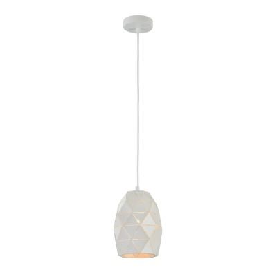 Люстра Maytoni MOD199-PL-03-W Louvreодиночные подвесные светильники<br><br><br>Тип лампы: Накаливания / энергосбережения / светодиодная<br>Тип цоколя: E27<br>Цвет арматуры: Белый<br>Количество ламп: 1<br>Диаметр, мм мм: 150<br>Высота полная, мм: 1400<br>Высота, мм: 200<br>MAX мощность ламп, Вт: 40