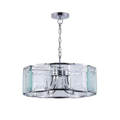 Подвесной светильник Maytoni MOD202PL-06N Cerezoподвесные люстры хай тек<br><br><br>Крепление: Планка<br>Тип лампы: Накаливания / энергосбережения / светодиодная<br>Тип цоколя: E14<br>Цвет арматуры: Серебристый никель<br>Количество ламп: 6<br>Диаметр, мм мм: 585<br>Высота полная, мм: 1430<br>Высота, мм: 210<br>Поверхность арматуры: глянцевая<br>Оттенок (цвет): серебристый<br>MAX мощность ламп, Вт: 40<br>Общая мощность, Вт: 240