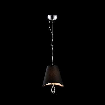 Подвес  Maytoni MOD206-01-N BoscageОдиночные<br><br><br>Тип лампы: Накаливания / энергосбережения / светодиодная<br>Тип цоколя: E14<br>Цвет арматуры: серебристый никель<br>Количество ламп: 1<br>Диаметр, мм мм: 180<br>Высота, мм: 250<br>MAX мощность ламп, Вт: 40