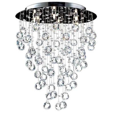 Люстра Maytoni MOD207-45-N Modern Rockfallкаскадные люстры в виде водопада<br>Мощный осветительный прибор, который идеально впишется в интерьер, выполненный в стиле модерн, представляет немецкая фирма Maytoni, ставшая популярной благодаря идеальному соотношению цены и качества своих товаров. Хрустальная люстра Maytoni MOD207-45-N, купить которую можно по весьма демократичной, лояльной стоимости, состоит из крупного круглого основания цвета никель и разновысоких подвесок, выполненных из роскошного прозрачного хрусталя. Хрустальная люстра от Майтони, рассмотреть которую можно на предлагаемом фото, рассчитана на шесть галогеновых ламп, которые уже вошли в предлагаемый комплект поставки и позволяют начать эксплуатацию прибора сразу после его получения.<br><br>Установка на натяжной потолок: Да<br>S освещ. до, м2: 16<br>Крепление: Планка<br>Тип лампы: галогенная / LED-светодиодная<br>Тип цоколя: G9<br>Цвет арматуры: серый<br>Количество ламп: 6<br>Диаметр, мм мм: 450<br>Высота, мм: 540<br>Поверхность арматуры: глянцевая<br>Оттенок (цвет): серебристый<br>MAX мощность ламп, Вт: 40