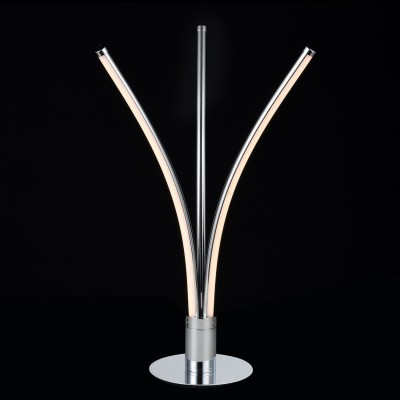 Светильник Maytoni MOD212-22-NСовременные<br>Настольная лампа – это не просто источник дополнительного освещения, но и оригинальный элемент декора. Его можно установить в спальне, гостиной, кабинете и других комнатах. Интернет-магазин «Светодом» предлагает настольные лампы разных стилей по доступным ценам. Благодаря большому ассортименту Вы обязательно найдете в нашем каталоге именно ту модель, которую искали.   Настольная лампа Maytoni MOD212-22-N – прекрасный вариант для завершения интерьера. Ее можно включить одновременно с люстрой для более яркого освещения или без нее для создания уютной атмосферы, настраивающей на отдых.   Купить настольную лампу Maytoni MOD212-22-N Вы можете с помощью виртуальной «Корзины» или по контактным номерам, указанным на сайте.<br><br>Тип лампы: LED<br>Тип цоколя: LED<br>Цвет арматуры: серебристый<br>Диаметр, мм мм: 300<br>Высота, мм: 485<br>MAX мощность ламп, Вт: 16