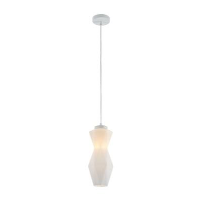 Люстра  Maytoni MOD231-PL-01-W SimplicityОдиночные<br><br><br>Тип лампы: Накаливания / энергосбережения / светодиодная<br>Тип цоколя: E14<br>Цвет арматуры: Белый<br>Количество ламп: 1<br>Диаметр, мм мм: 130<br>Высота полная, мм: 1290<br>Высота, мм: 290<br>MAX мощность ламп, Вт: 40