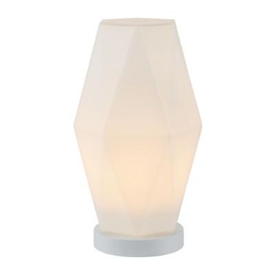 Настольная лампа  Maytoni MOD231-TL-01-W SimplicityХай тек<br><br><br>Тип лампы: Накаливания / энергосбережения / светодиодная<br>Тип цоколя: E27<br>Цвет арматуры: Белый<br>Количество ламп: 1<br>Диаметр, мм мм: 200<br>Высота, мм: 365<br>MAX мощность ламп, Вт: 60