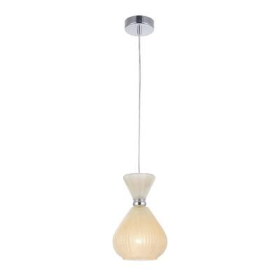 Люстра Maytoni MOD250-PL-01-FY Bariодиночные подвесные светильники<br><br><br>Тип лампы: Накаливания / энергосбережения / светодиодная<br>Тип цоколя: E14<br>Цвет арматуры: Хром серебристый<br>Количество ламп: 1<br>Диаметр, мм мм: 170<br>Высота полная, мм: 1260<br>Высота, мм: 260<br>MAX мощность ламп, Вт: 40