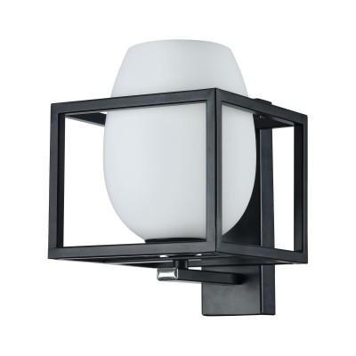 Бра  Maytoni MOD252-WL-01-B Cabinбра в стиле лофт<br><br><br>Тип лампы: Накаливания / энергосбережения / светодиодная<br>Тип цоколя: E14<br>Цвет арматуры: Черный<br>Количество ламп: 1<br>Ширина, мм: 160<br>Глубина, мм: 192<br>Высота, мм: 220<br>MAX мощность ламп, Вт: 40