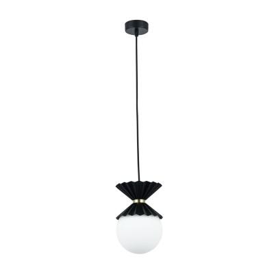 Люстра Maytoni MOD264-PL-01-B OvationОдиночные<br><br><br>Тип лампы: Накаливания / энергосбережения / светодиодная<br>Тип цоколя: G9<br>Цвет арматуры: Черный<br>Количество ламп: 1<br>Диаметр, мм мм: 150<br>Высота полная, мм: 1220<br>Высота, мм: 220<br>MAX мощность ламп, Вт: 28
