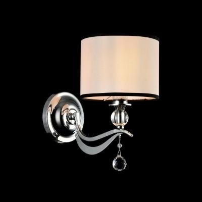 Бра Maytoni MOD269-WL-01-CHСовременные<br><br><br>Тип лампы: Накаливания / энергосбережения / светодиодная<br>Тип цоколя: E14<br>Цвет арматуры: серебристый<br>Количество ламп: 1<br>Ширина, мм: 170<br>Расстояние от стены, мм: 260<br>Высота, мм: 280<br>MAX мощность ламп, Вт: 40