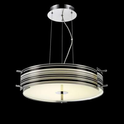 Люстра Maytoni MOD310-12-WB BronteПодвесные<br><br><br>Установка на натяжной потолок: Да<br>S освещ. до, м2: 8<br>Тип лампы: LED<br>Тип цоколя: LED<br>Цвет арматуры: Белый + Черный<br>Диаметр, мм мм: 506<br>Высота, мм: 1200<br>MAX мощность ламп, Вт: 21