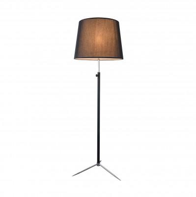 Торшер Maytoni MOD323-FL-01-B MonicСовременные<br><br><br>Тип лампы: Накаливания / энергосбережения / светодиодная<br>Тип цоколя: E27<br>Цвет арматуры: Чёрный + Хром серебристый<br>Количество ламп: 1<br>Диаметр, мм мм: 450<br>Высота, мм: 1600<br>MAX мощность ламп, Вт: 40