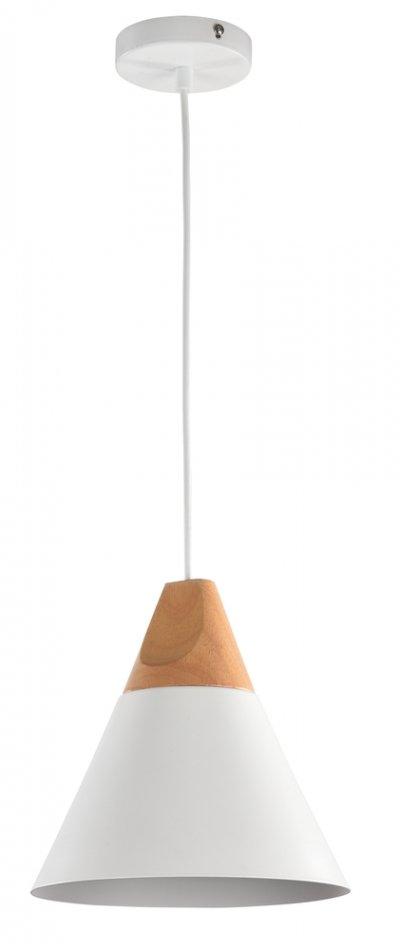Подвесной светильник Maytoni P359-PL-01-W BiconesОдиночные<br>Подвесной светильник – это универсальный вариант, подходящий для любой комнаты. Сегодня производители предлагают огромный выбор таких моделей по самым разным ценам. В каталоге интернет-магазина «Светодом» мы собрали большое количество интересных и оригинальных светильников по выгодной стоимости. Вы можете приобрести их в Москве, Екатеринбурге и любом другом городе России. <br>Подвесной светильник Maytoni P359-PL-01-W сразу же привлечет внимание Ваших гостей благодаря стильному исполнению. Благородный дизайн позволит использовать эту модель практически в любом интерьере. Она обеспечит достаточно света и при этом легко монтируется. Чтобы купить подвесной светильник Maytoni P359-PL-01-W, воспользуйтесь формой на нашем сайте или позвоните менеджерам интернет-магазина.<br><br>S освещ. до, м2: 3<br>Тип цоколя: E27<br>Количество ламп: 1<br>Диаметр, мм мм: 220<br>Высота, мм: 1400<br>MAX мощность ламп, Вт: 60