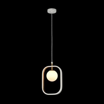 Подвес  Maytoni MOD431-PL-01-WG AvolaОдиночные<br><br><br>Тип лампы: галогенная/LED<br>Тип цоколя: G9<br>Цвет арматуры: Белый+золотой<br>Количество ламп: 1<br>Ширина, мм: 178<br>Глубина, мм: 25<br>Высота, мм: 250<br>MAX мощность ламп, Вт: 40