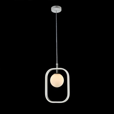 Подвес  Maytoni MOD431-PL-01-WS AvolaОдиночные<br><br><br>Тип лампы: галогенная/LED<br>Тип цоколя: G9<br>Цвет арматуры: Белый+золотой<br>Количество ламп: 1<br>Ширина, мм: 178<br>Глубина, мм: 25<br>Высота, мм: 250<br>MAX мощность ламп, Вт: 40