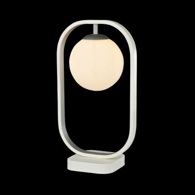 Настольная лампа Maytoni MOD431-TL-01-WS AvolaХай тек<br><br><br>Тип лампы: галогенная/LED<br>Тип цоколя: G9<br>Цвет арматуры: белый/серебристый<br>Количество ламп: 1<br>Ширина, мм: 230<br>Глубина, мм: 25<br>Высота, мм: 395<br>MAX мощность ламп, Вт: 40