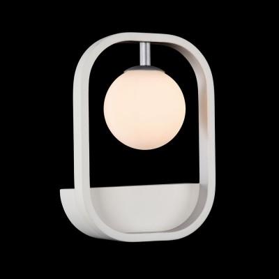 Бра Maytoni MOD431-WL-01-WS AvolaХай-тек<br><br><br>Тип лампы: галогенная/LED<br>Тип цоколя: G9<br>Количество ламп: 1<br>Ширина, мм: 178<br>MAX мощность ламп, Вт: 40<br>Расстояние от стены, мм: 72<br>Высота, мм: 250<br>Цвет арматуры: белый/серебристый
