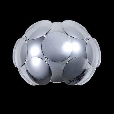 Светильник Maytoni MOD503-01-NХай-тек<br><br><br>S освещ. до, м2: 1<br>Тип лампы: накаливания / энергосбережения / LED-светодиодная<br>Тип цоколя: E27<br>Цвет арматуры: серебристый хром<br>Количество ламп: 1<br>Ширина, мм: 360<br>Расстояние от стены, мм: 300<br>Высота, мм: 270<br>MAX мощность ламп, Вт: 26