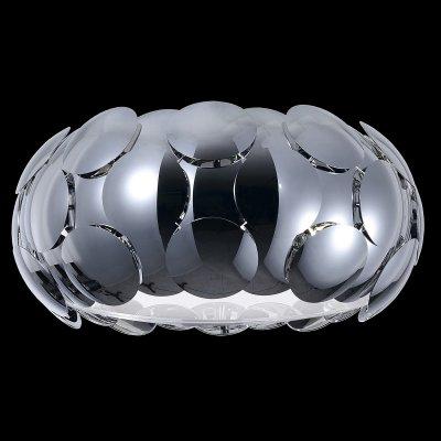 Люстра Maytoni MOD503-06-NПотолочные<br><br><br>Установка на натяжной потолок: Ограничено<br>S освещ. до, м2: 10<br>Крепление: планка<br>Тип лампы: накаливания / энергосбережения / LED-светодиодная<br>Тип цоколя: E27<br>Цвет арматуры: серебристый хром<br>Количество ламп: 6<br>Диаметр, мм мм: 500<br>Высота, мм: 280<br>MAX мощность ламп, Вт: 26