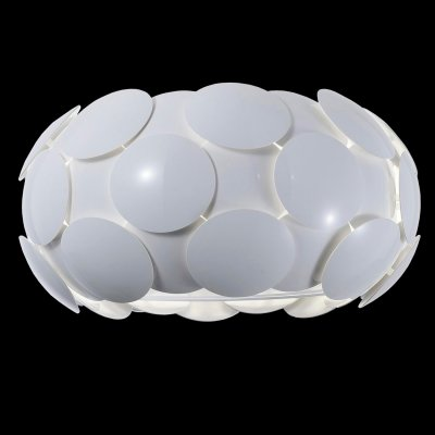 Люстра Maytoni MOD503-06-WПотолочные<br><br><br>Установка на натяжной потолок: Ограничено<br>S освещ. до, м2: 24<br>Крепление: планка<br>Тип лампы: накаливания / энергосбережения / LED-светодиодная<br>Тип цоколя: E27<br>Цвет арматуры: Белый глянец<br>Количество ламп: 6<br>Диаметр, мм мм: 500<br>Высота, мм: 280<br>MAX мощность ламп, Вт: 60