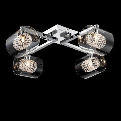 Люстра потолочная Maytoni MOD504-04-N MOD504Потолочные<br>Компания «Светодом» предлагает широкий ассортимент люстр от известных производителей. Представленные в нашем каталоге товары выполнены из современных материалов и обладают отличным качеством. Благодаря широкому ассортименту Вы сможете найти у нас люстру под любой интерьер. Мы предлагаем как классические варианты, так и современные модели, отличающиеся лаконичностью и простотой форм.  Стильная люстра Maytoni MOD504-04-N станет украшением любого дома. Эта модель от известного производителя не оставит равнодушным ценителей красивых и оригинальных предметов интерьера. Люстра Maytoni MOD504-04-N обеспечит равномерное распределение света по всей комнате. При выборе обратите внимание на характеристики, позволяющие приобрести наиболее подходящую модель. Купить понравившуюся люстру по доступной цене Вы можете в интернет-магазине «Светодом».<br><br>Установка на натяжной потолок: Ограничено<br>S освещ. до, м2: 11<br>Крепление: Планка<br>Тип лампы: галогенная / LED-светодиодная<br>Тип цоколя: G9<br>Количество ламп: 4<br>Ширина, мм: 580<br>MAX мощность ламп, Вт: 42<br>Длина, мм: 580<br>Высота, мм: 180<br>Цвет арматуры: серебристый