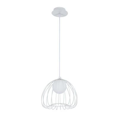 Подвесной светильник Maytoni MOD542PL-01W Polly Modernодиночные подвесные светильники<br><br><br>Тип лампы: галогенная/LED - светодиодная<br>Тип цоколя: G9<br>Цвет арматуры: Белый<br>Количество ламп: 1<br>Диаметр, мм мм: 250<br>Высота полная, мм: 1680<br>Высота, мм: 210<br>Поверхность арматуры: матовая<br>Оттенок (цвет): Белый<br>MAX мощность ламп, Вт: 28