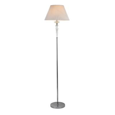 Торшер Maytoni MOD560-FL-01-N SmussoКлассические<br><br><br>Тип лампы: Накаливания / энергосбережения / светодиодная<br>Тип цоколя: E27<br>Цвет арматуры: Хром серебристый<br>Количество ламп: 1<br>Диаметр, мм мм: 400<br>Высота, мм: 1650<br>MAX мощность ламп, Вт: 40