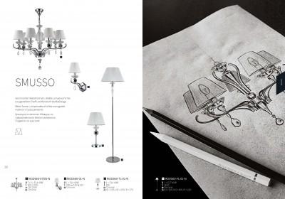 Настольная лампа Maytoni MOD560-TL-01-N SmussoОжидается<br><br><br>Тип цоколя: E15<br>Цвет арматуры: серебристый хром<br>Количество ламп: 2<br>Глубина, мм: 255<br>Оттенок (цвет): серебристый хром<br>MAX мощность ламп, Вт: 40