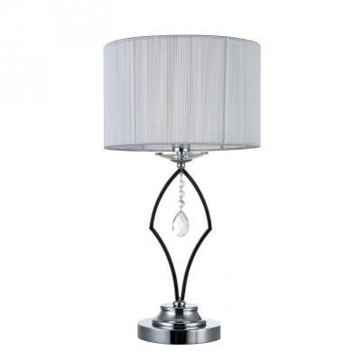 Настольная лампа Maytoni MOD602-TL-01-N MiraggioСовременные<br><br><br>Тип цоколя: E14<br>Цвет арматуры: серебристый хром<br>Количество ламп: 1<br>Глубина, мм: 280<br>Оттенок (цвет): серебристый хром<br>MAX мощность ламп, Вт: 40