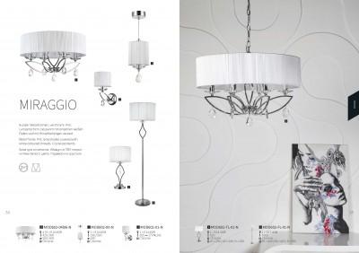 Настольная лампа Maytoni MOD602-TL-01-N MiraggioОжидается<br><br><br>Тип цоколя: E14<br>Цвет арматуры: серебристый хром<br>Количество ламп: 1<br>Глубина, мм: 280<br>Оттенок (цвет): серебристый хром<br>MAX мощность ламп, Вт: 40
