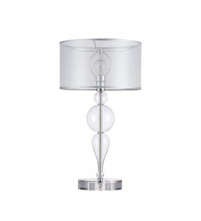 Настольная лампа Maytoni MOD603-11-N Bubble DreamsСовременные<br>Настольная лампа – это не просто источник дополнительного освещения, но и оригинальный элемент декора. Его можно установить в спальне, гостиной, кабинете и других комнатах. Интернет-магазин «Светодом» предлагает настольные лампы разных стилей по доступным ценам. Благодаря большому ассортименту Вы обязательно найдете в нашем каталоге именно ту модель, которую искали. <br> Настольная лампа Maytoni MOD603-11-N – прекрасный вариант для завершения интерьера. Ее можно включить одновременно с люстрой для более яркого освещения или без нее для создания уютной атмосферы, настраивающей на отдых. <br> Купить настольную лампу Maytoni MOD603-11-N Вы можете с помощью виртуальной «Корзины» или по контактным номерам, указанным на сайте.<br><br>Тип цоколя: E27<br>Количество ламп: 1<br>Диаметр, мм мм: 270<br>Высота, мм: 500<br>MAX мощность ламп, Вт: 40