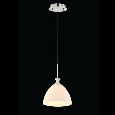 Светильник Maytoni MOD702-01-WОдиночные<br><br><br>Тип товара: Светильник<br>Тип лампы: Накаливания / энергосбережения / светодиодная<br>Тип цоколя: E27<br>Количество ламп: 1<br>MAX мощность ламп, Вт: 40<br>Диаметр, мм мм: 180<br>Высота, мм: 1500<br>Цвет арматуры: серебристый хром