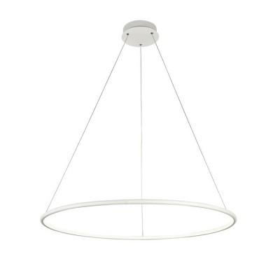 Подвес Maytoni MOD807-PL-01-48-W NolaПодвесные<br><br><br>S освещ. до, м2: 19<br>Тип лампы: LED-светодиодная<br>Тип цоколя: LED 2900 LM<br>Цвет арматуры: Белый<br>Количество ламп: 1<br>Глубина, мм: 800<br>Оттенок (цвет): Белый<br>MAX мощность ламп, Вт: 48