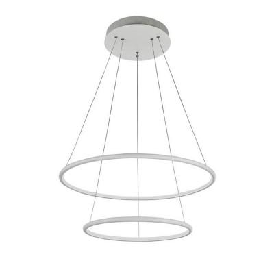 Подвес Maytoni MOD807-PL-02-85-W NolaПодвесные<br><br><br>S освещ. до, м2: 34<br>Тип лампы: LED-светодиодная<br>Тип цоколя: LED 4800 LM<br>Цвет арматуры: Белый<br>Количество ламп: 1<br>Глубина, мм: 800<br>Оттенок (цвет): Белый<br>MAX мощность ламп, Вт: 85
