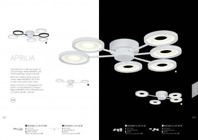 Светильник Maytoni MOD809-CL-06-72-WB ApriliaОжидается<br><br><br>Тип цоколя: LED 6000 LM<br>Цвет арматуры: Белый + Черный<br>Ширина, мм: 495<br>Диаметр, мм мм: 610<br>Оттенок (цвет): Белый + Черный<br>MAX мощность ламп, Вт: 72