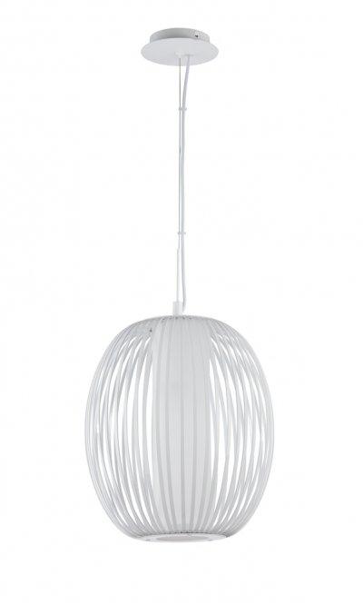 Подвесной светильник Maytoni MOD894-11-W FlashОдиночные<br><br><br>Тип товара: Подвесной светильник<br>Тип цоколя: E27<br>Количество ламп: 1<br>MAX мощность ламп, Вт: 12<br>Диаметр, мм мм: 345<br>Высота, мм: 230
