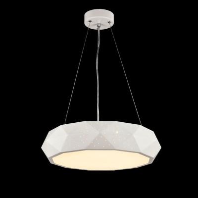 Люстра Maytoni MOD897-45-W Ivonaподвесные люстры хай тек<br><br><br>Установка на натяжной потолок: Да<br>S освещ. до, м2: 16<br>Тип лампы: LED<br>Тип цоколя: LED<br>Цвет арматуры: Белый<br>Диаметр, мм мм: 460<br>Высота, мм: 100 - 1500<br>MAX мощность ламп, Вт: 40