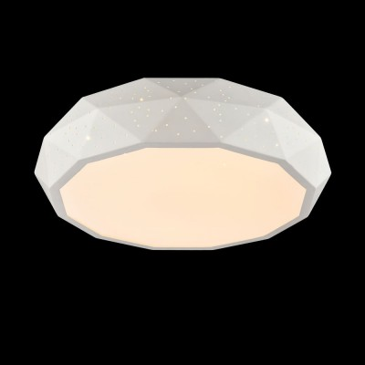 Люстра Maytoni MOD897-46-W IvonaПотолочные<br><br><br>Установка на натяжной потолок: Да<br>S освещ. до, м2: 16<br>Тип лампы: LED<br>Тип цоколя: LED<br>MAX мощность ламп, Вт: 40<br>Диаметр, мм мм: 460<br>Высота, мм: 105<br>Цвет арматуры: Белый