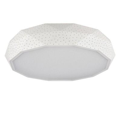 Люстра Maytoni MOD897-58-W IvonaПотолочные<br><br><br>Установка на натяжной потолок: Да<br>S освещ. до, м2: 24<br>Тип лампы: LED<br>Тип цоколя: LED<br>Цвет арматуры: Белый<br>Диаметр, мм мм: 580<br>Высота, мм: 110<br>MAX мощность ламп, Вт: 60