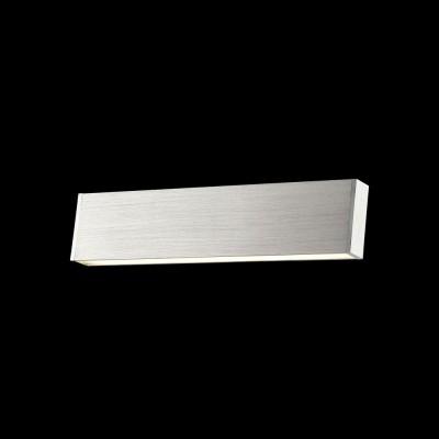 Бра Maytoni C937-WL-01-12W-N ViloraХай-тек<br><br><br>Тип лампы: LED<br>Тип цоколя: LED<br>Цвет арматуры: Серый<br>Ширина, мм: 316<br>MAX мощность ламп, Вт: 12