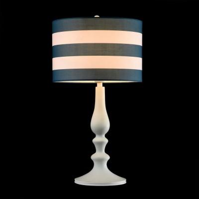 Настольная лампа Maytoni MOD963-TL-01-WКлассические<br><br><br>Тип лампы: Накаливания / энергосбережения / светодиодная<br>Тип цоколя: E14<br>Количество ламп: 1<br>MAX мощность ламп, Вт: 40<br>Диаметр, мм мм: 270<br>Высота, мм: 500<br>Цвет арматуры: белый