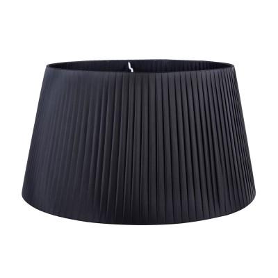 Абажур для торшера  Maytoni MOD974-FLShade-Black TorontoАбажуры<br><br><br>Цвет арматуры: Черный<br>Высота, мм: 270x390x500
